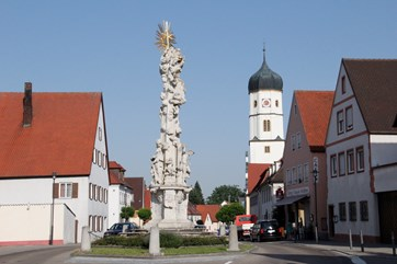 Pestsäule in Wallerstein